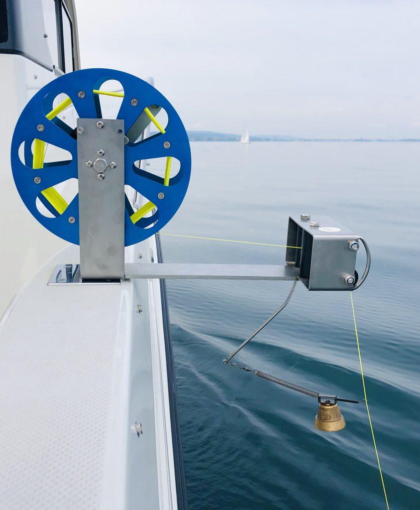 Multischlepprolle,Unterwasserschleppfischerei