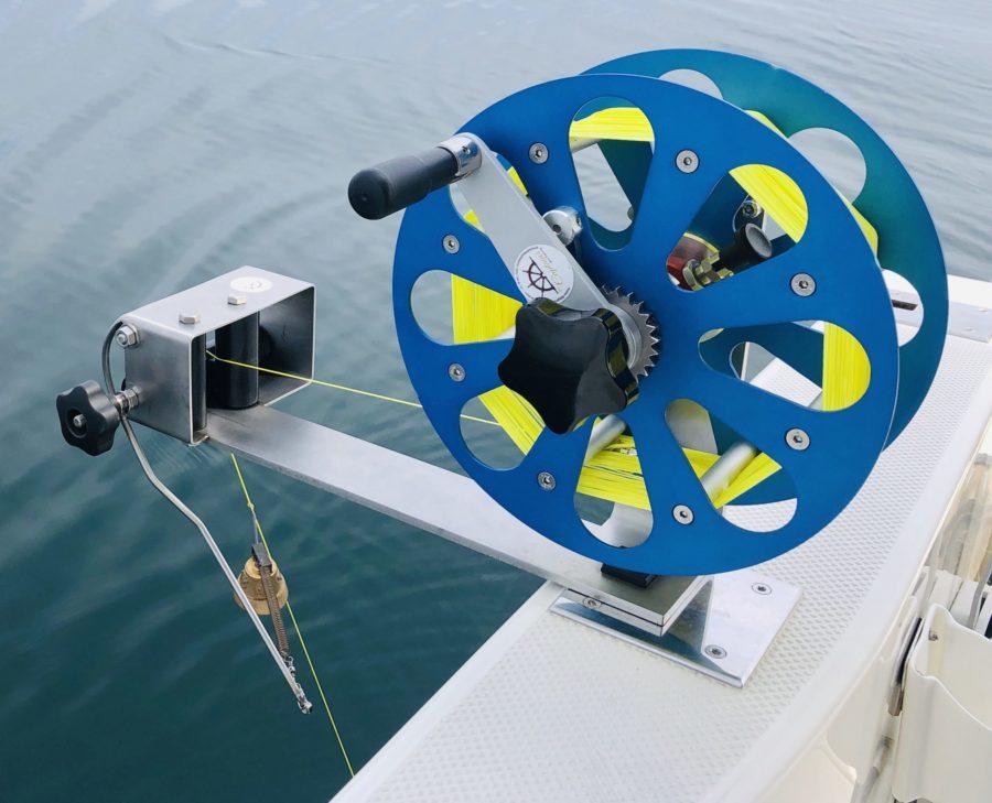 Multischlepprolle ,Unterwasserschleppfischerei