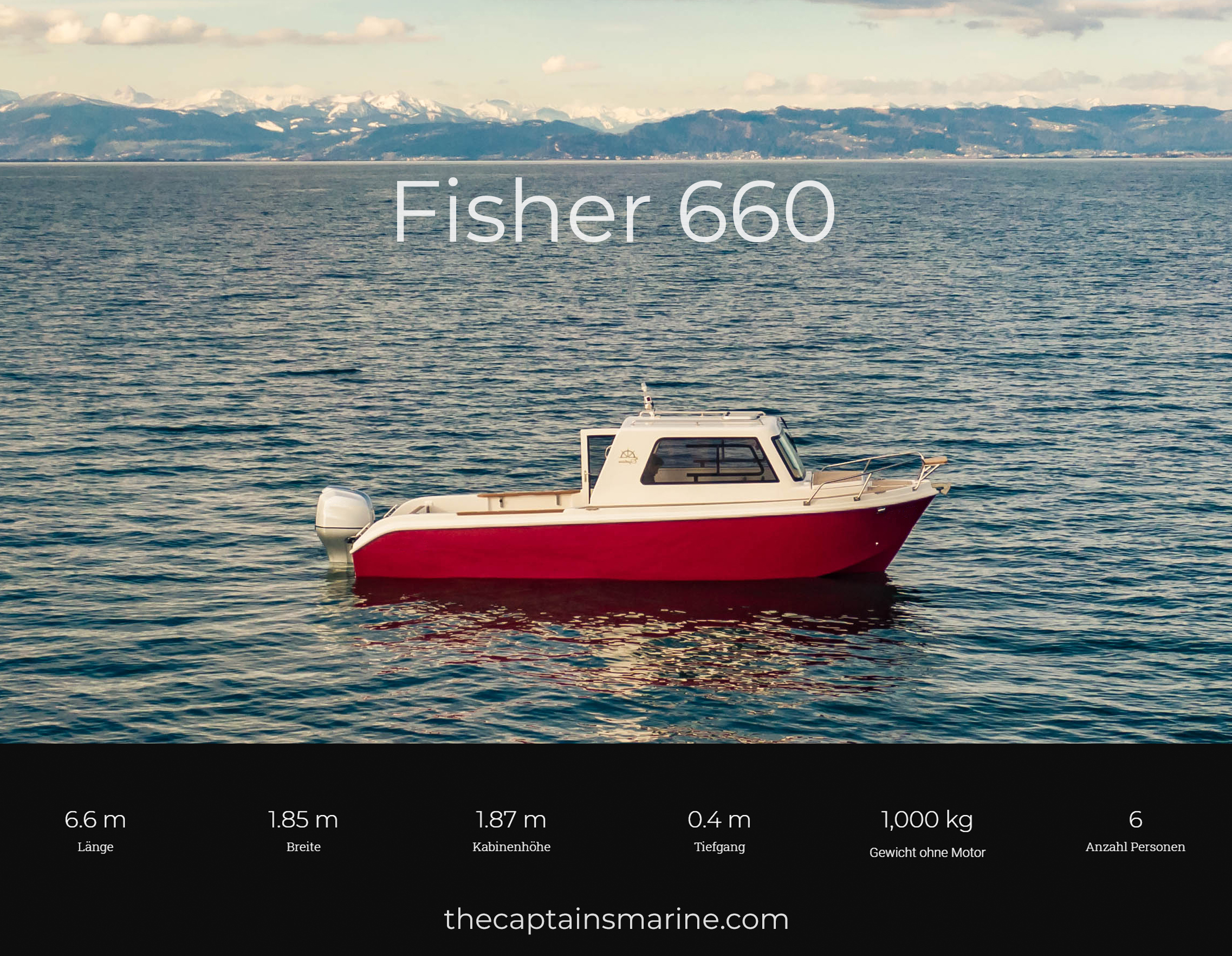 The Captains Fisher 660